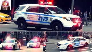 NYPD Compilation of Police Cars Responding (Blips, Rumbler Sirens)