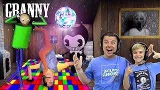 PARTY AT GRANNY'S HOUSE! Outwitt 1.7 Gameplay With Bendy and Baldi