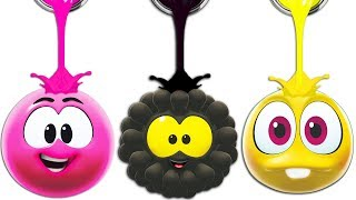 SQUISHY BALLS | LIVE | Colors With WonderBalls | Cartoon Candy
