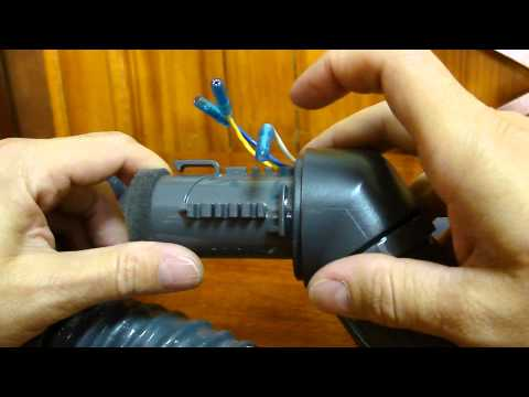How to replace the hose connector in a Kenmore Progressive 360 Canister Vacuum