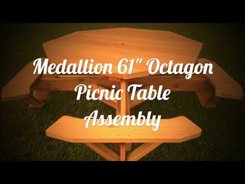 Build Octagon Picnic Table