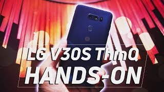 LG V30s ThinQ Hands On