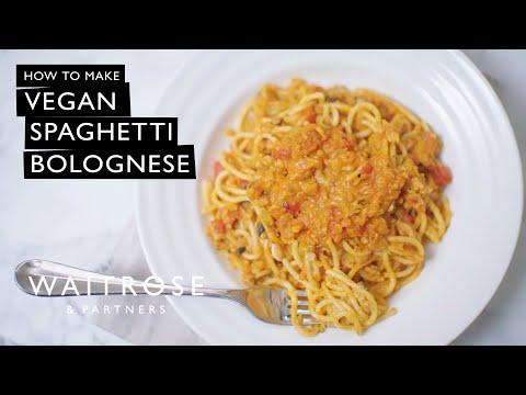 Vegan Spaghetti Bolognese | Waitrose