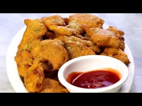 How To make Onion Pakoda at Home   Homemade Onion Pakoda Recipe   Easy Indian Snack Recipe