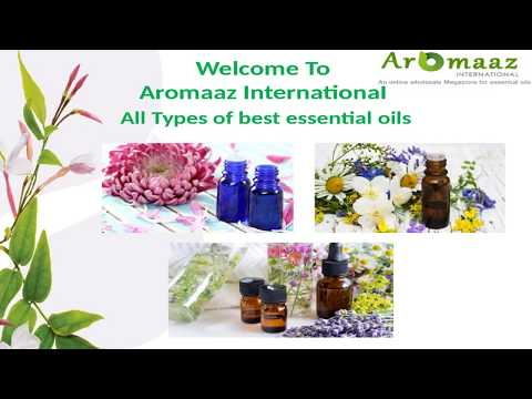 Essential Oils in India @ Aromaaz International