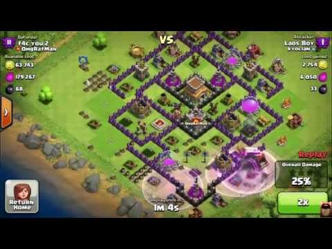 Why Clan Troops are so Good To have Plus Huge Clan Win 41-11 clash of clans