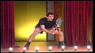 Neša Bridžis kao Novak Djokovic (Ami G Show 2011)