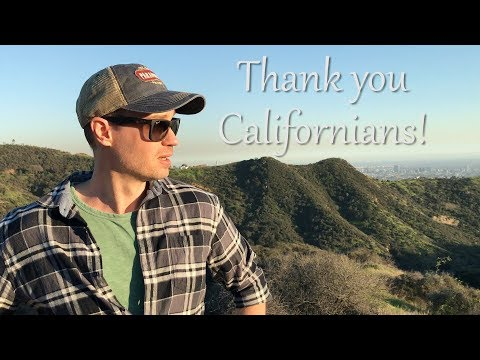 Thank You California from the Hollywood Hills (Michael Sealey Hypnosis & Guided Meditation Channel)