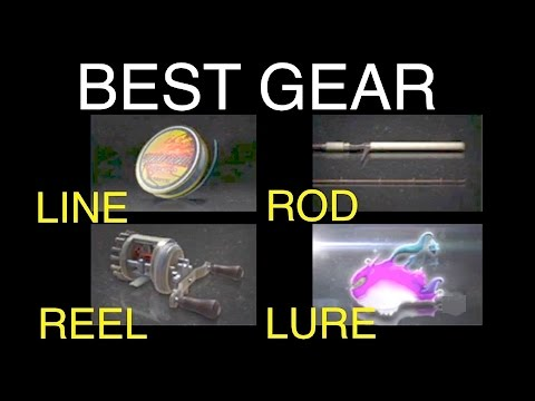 Final Fantasy XV: Best Fishing Gear (Rod, Reel, Line, and Lure)