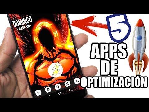 5 APLICACIONES PARA LA OPTIMIZACION MAXIMA DE TU TELEFONO ANDROID