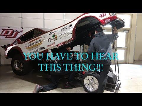 Spokane Speed and Custom Show 2018 Day 2 - Nitro Funny Car Cold Start!!!