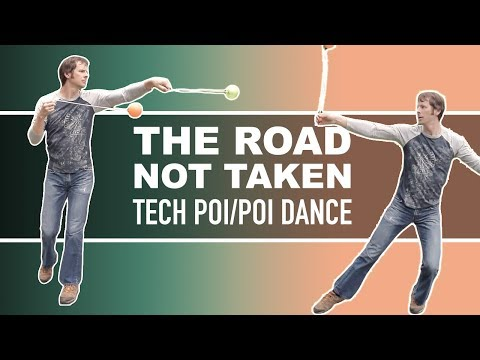 Tech Poi and Poi Dance: The Road Not Taken by DrexFactor Poi