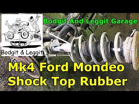 ford mondeo mk4 2008 shock top rubber bodgit and leggit garage