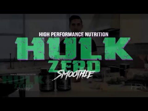 Hulk Zero Smoothie - Made for Gains - Clean Enough for Hippies
