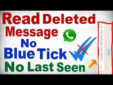 How To Read Deleted Messages(WhatsApp),Hide Blue Tick,No Last Seen With Hide App