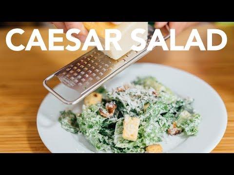 CAESAR SALAD - Make Your Own Dressing