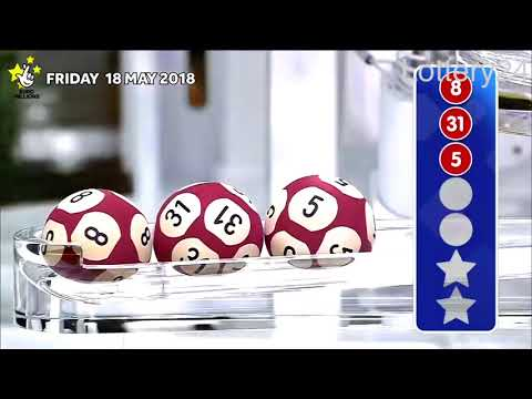 2018 05 18 Euro Millions Number and draw results