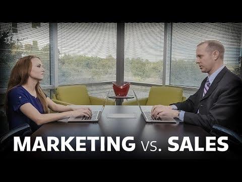 DigitalMarketer Marketing Versus Sales Campaign