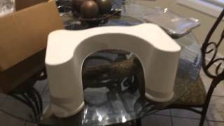 Diy Toilet Relief Using A Squatty Potty My Review