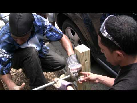 Sustainable South Bronx Building a Tree Guard