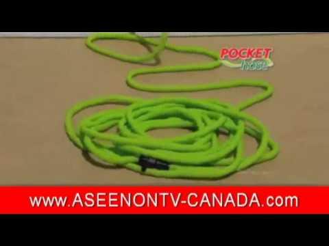 Pocket Hose Canada Infomericial As Seen on TV Canada