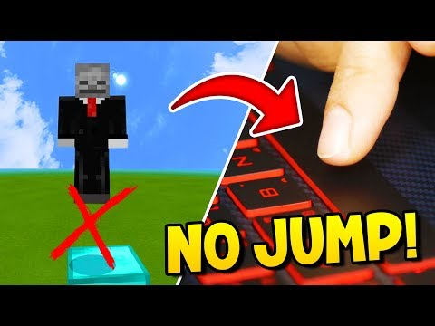 If You Jump You Lose Minecraft Challenge! (DO NOT JUMP)