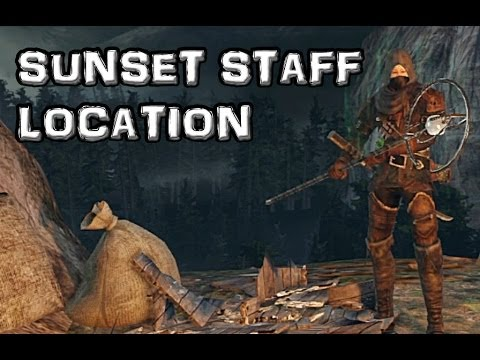 Dark Souls 2 Sunset Staff Location