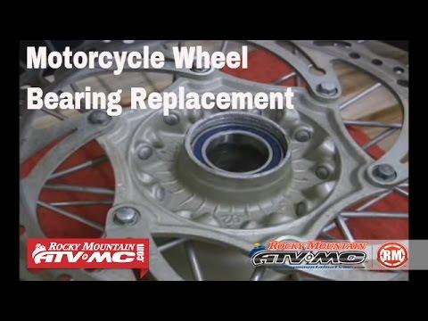 Motorcycle Wheel Bearing Replacement