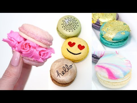 How to Decorate Store-Bought Macarons | Macaron Hack | How to Customize French Macarons
