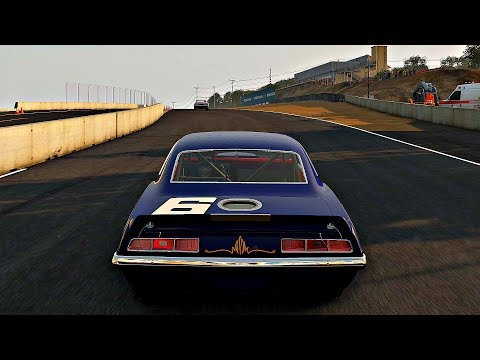 Project CARS 2 - Gameplay Chevrolet Camaro Z/28 TRANS AM @ Laguna Seca [4K 60FPS ULTRA]