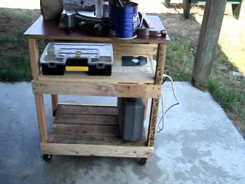 PALLET PROJECT   ROLLING CART