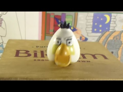 Angry Birds White Bird Matilda Toy Kinder Surprise Egg