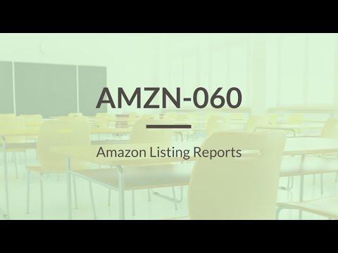 SureDone: Amazon Training (6 of 6) - Listing Reports