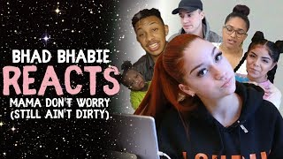 "Danielle Bregoli reacts to BHAD BHABIE ""Mama Don"