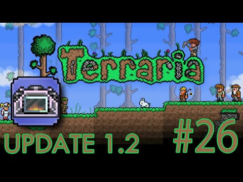 Terraria: iOS ANDROID UPDATE 1.2 -How to Craft a Titanium Forge | Gameplay #26