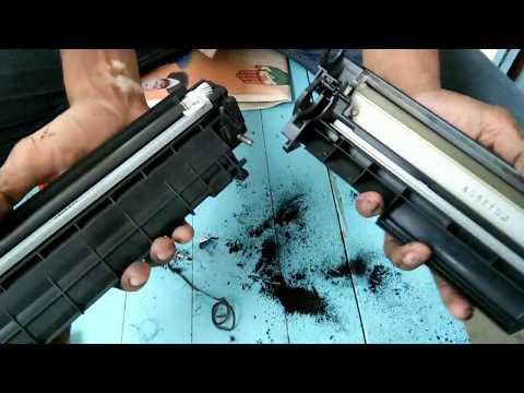 how to refill 12a cartridges full video