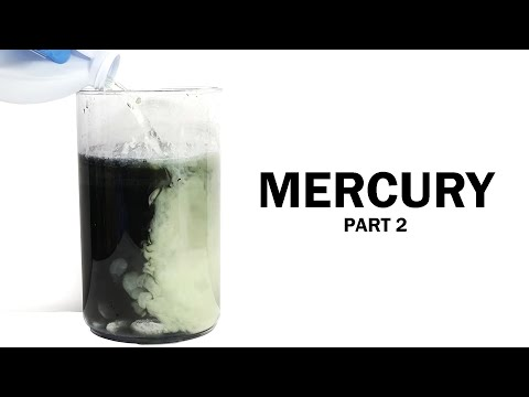 Making Mercury Metal Part 2: The Cleanup