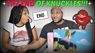 """Perfect Cell Vs Ugandan Knuckles Part 4: The End Of The Meme"" REACTION!!"