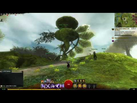 GW2 - Point of Interest - Caer Verdant - Caledon Forest