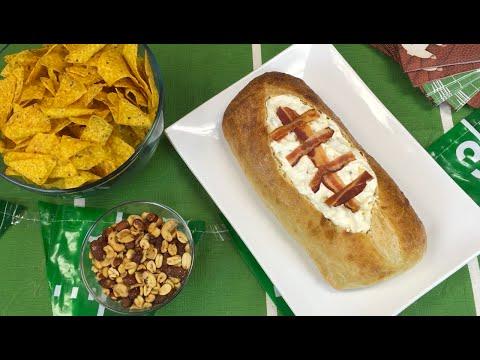 Football Dip Bread Bowl: Fresh Creations®