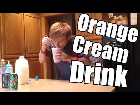 How to Make an Orange Cream Drink Mix