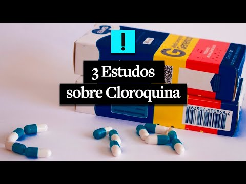 3 estudos sobre cloroquina