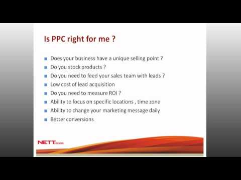 Webinar: Pay Per Click (PPC) advertising - increasing your ROI with qualified leads