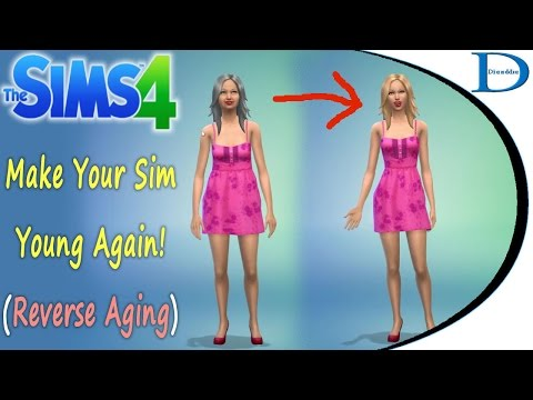 How To Make Your Sim Young Again - Reverse Aging/Stop Aging - The Sims 4 Tips and Tricks