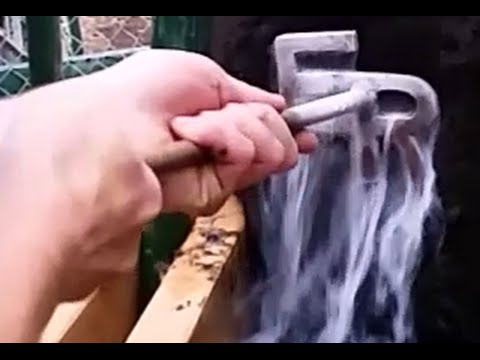 Freeze Branding With Liquid Nitrogen