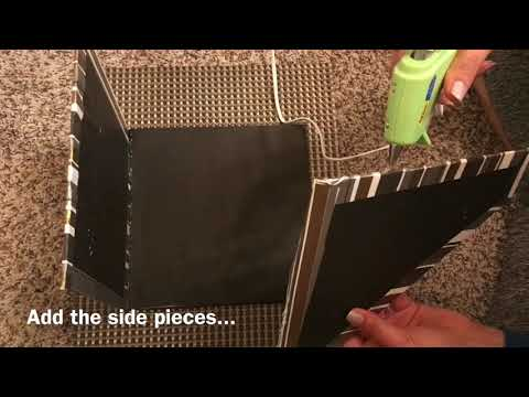 HOW TO MAKE BOOK HOLDER