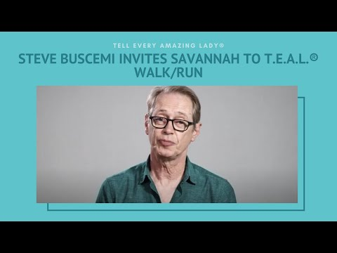 The Annual Savannah T.E.A.L.® Walk/Run for Ovarian Cancer - Celebrity PSA