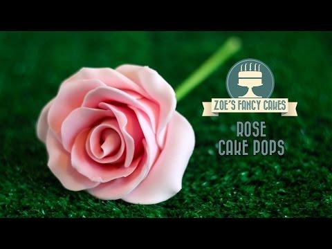 Rose cake pops how to make flower cake pops roses cake pop tutorial