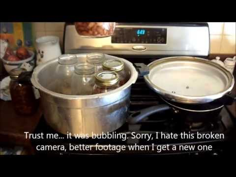 Pressure Canning dry pinto beans (or other dry beans) how to tutorial