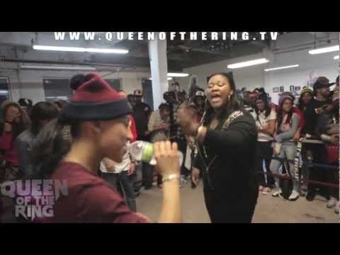 BABS BUNNY & VAGUE presents QUEEN OF THE RING CHAYNA ASHLEY vs MS FIT
